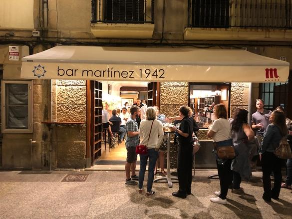 Bar Martínez San Sebastián 1942